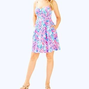 NWT Lilly Pulitzer EASTON Cracked Up Dress Sz 2